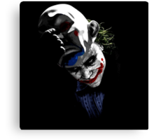 The Unmasking Canvas Print