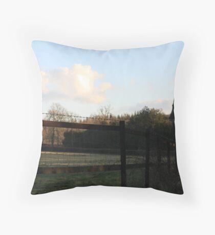 Highclere Church Throw Pillow