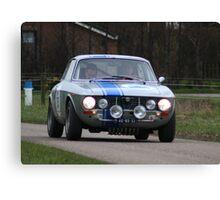 Alfa Romeo Rally Canvas Print