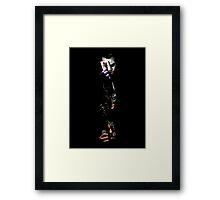 Batman Jokerface Framed Print