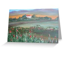Secluded by Poppies Greeting Card