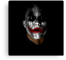 Joker #3 Canvas Print