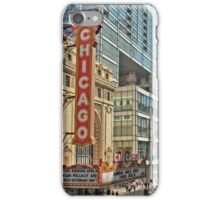 Chicago Theatre Street  iPhone Case/Skin