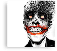 The Bat and The Clown Canvas Print