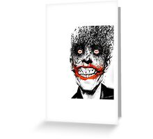 The Bat and The Clown Greeting Card