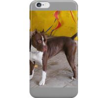 Pit Bull red nose, iPhone Case/Skin
