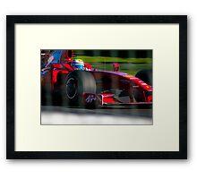 Räikkönen's Office Framed Print