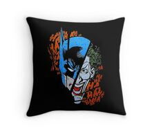 HAHAHAHAHAHA Throw Pillow