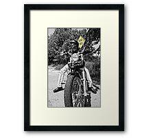 road ends Framed Print
