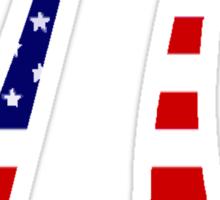 American Pi Sticker