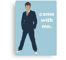Doctor Who David Tennant Quote  Canvas Print