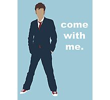 Doctor Who David Tennant Quote  Photographic Print