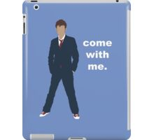 Doctor Who David Tennant Quote  iPad Case/Skin