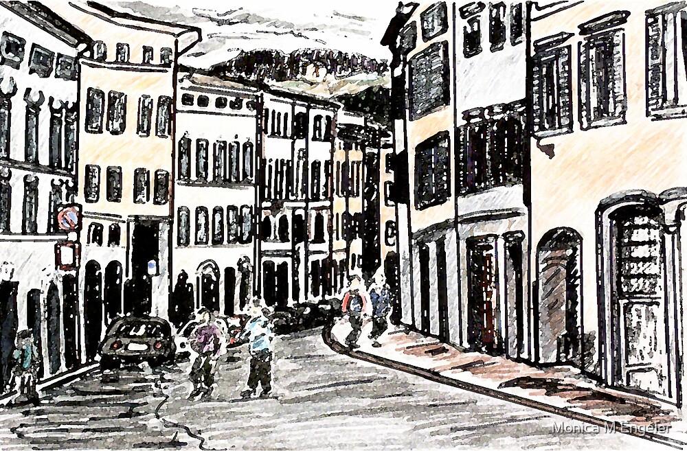 Italian Streets by Monica Engeler