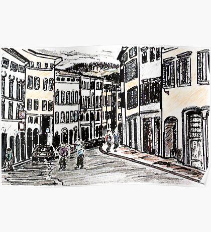 Italian Streets Poster