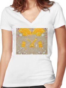 Dirty Soap #42 Women's Fitted V-Neck T-Shirt