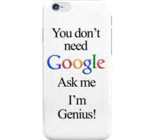 I'm Genius iPhone Case/Skin