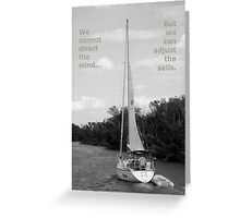 Wind And Sails Greeting Card
