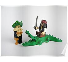 Pirate Figures Poster