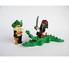 Jack Sparrow and Davy Jones Photographic Print