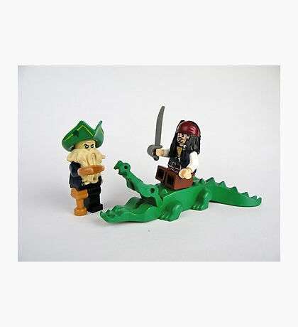 Pirate Figures Photographic Print
