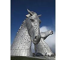 The Kelpies (1) Photographic Print