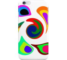 Crazy Colorful Circles! iPhone Case/Skin