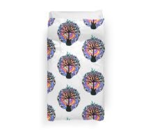 """""""Psychedelic Sonic Cyclone""""   ( surreal guitar tree art) Duvet Cover"""