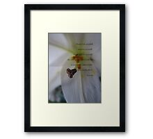 Always be yourself-inspiration Framed Print