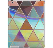 triangle wave iPad Case/Skin