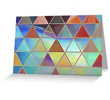 triangle wave Greeting Card