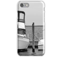Docked Vessels   Center Moriches, New York iPhone Case/Skin