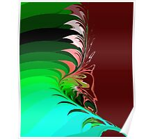 flower leafs Poster