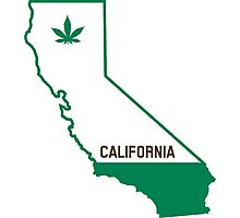 California The Green State Photographic Print