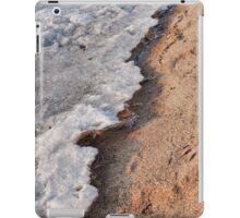 Winter Receding on Gull Lake  iPad Case/Skin