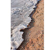 Winter Receding on Gull Lake  Photographic Print