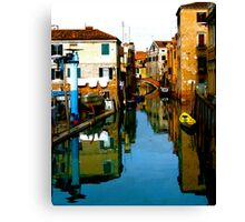 REFLECTIVE VENICE Canvas Print