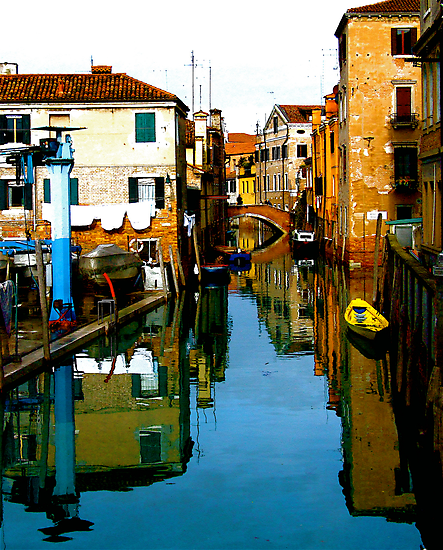 REFLECTIVE VENICE by Scott  d'Almeida