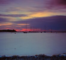 Another Day Drifts Past (with flotsam on the shore) by jakeof