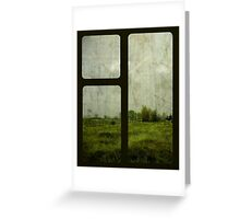 The Gloom Grows Green. Greeting Card