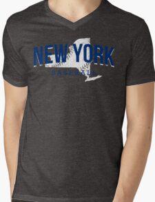 New York Baseball 2 Mens V-Neck T-Shirt
