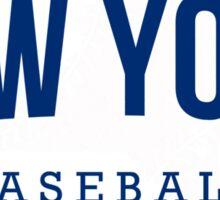 New York Baseball 2 Sticker