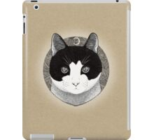 Cat ink illustration iPad Case/Skin