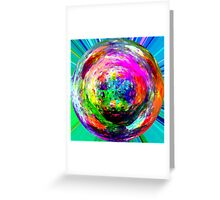 marble 3 Greeting Card