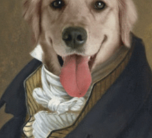 Formal Dog Sticker