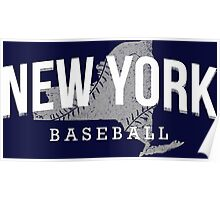 New York Baseball 3 Poster