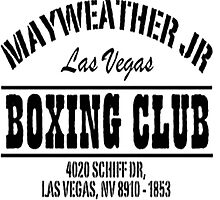 Mayweather Boxing Club by TrendingShirts