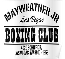 Mayweather Boxing Club Poster