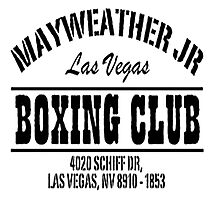 Mayweather Boxing Club Photographic Print