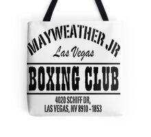 Mayweather Boxing Club Tote Bag
